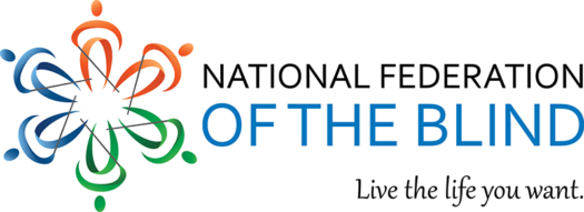 "NFB Logo with the slogan ""Live the life you want"""